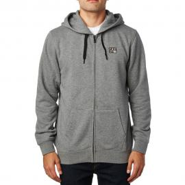 FOX DISTRICT 1 ZIP FLEECE HEATHER