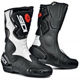 SIDI FUSION BOOTS BLACK WHITE