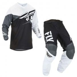 FLY 2019 F-16 JERSEY AND PANT COMBO BLK WHT