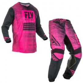 FLY 2019 KINETIC JERSEY AND PANT COMBO PINK