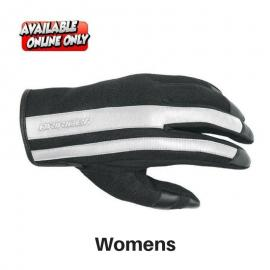 URBAN GLOVES BLACK WHITE LADIES