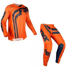 FOX 180 COTA YOUTH JERSEY AND PANT COMBO ORANGE