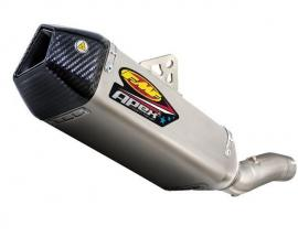 EXHAUST FMF KAWASAKI ZX-10R 08-10 TI/CARBON APEX SLIP-ON