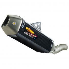 EXHAUST FMF SUZUKI GSX-R600/750 08-10 CARBON APEX SLIP-ON