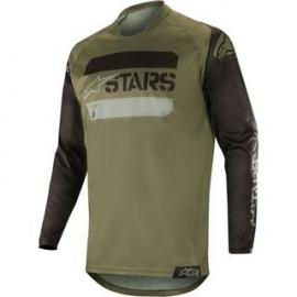 ALPINESTARS 2019 RACER TACTICAL JERSEY BLACK MILITARY GREEN CAMO