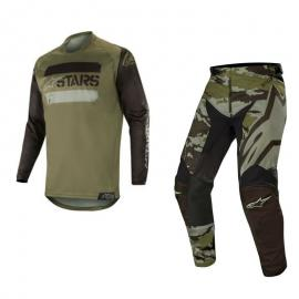 ALPINESTARS 2019 RACER TACTICAL JERSEY AND PANT COMBO BLK MILITA