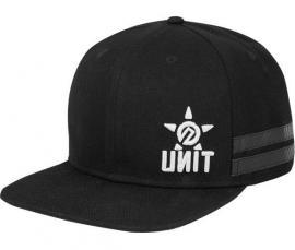 UNIT CASUAL CAP OFFSET BLK
