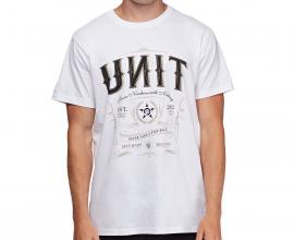 UNIT MENS TEE OUTLAW WHT
