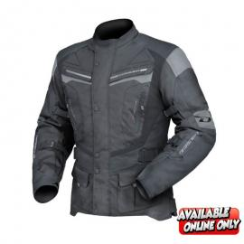 DRIRIDER APEX 4 MENS JACKET BLACK/GREY