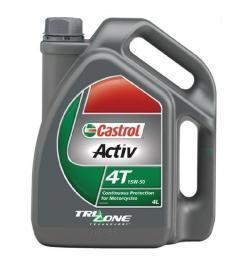 CASTROL ACTIV 4T 15W50 4-LITRE