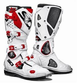 SIDI CROSSFIRE 2 WHITE RED