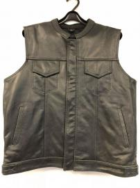 R8 ANARCHY LEATHER VEST