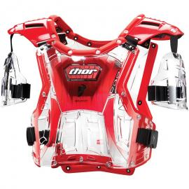 THOR QUADRANT S14 YOUTH CLEAR/RED