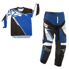 AXO SR MX PANT AND JERSEY SET BLUE