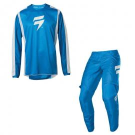 SHIFT 2020 WHIT3 LABEL RACE JERSEY AND PANT BLUE