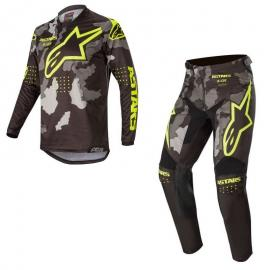 ALPINESTARS 2020 YTH RACER TACTICAL JERSEY AND PANT COMBO BLK GR