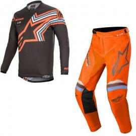 2020 ALPINESTARS BRAAP JERSEY AND PANT ORANGE COMBO