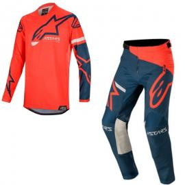 2020 ALPINESTARS COMPASS JERSEY AND PANT RED COMBO