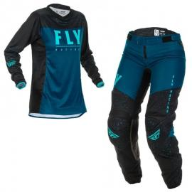 FLY 2020 WOMENS LITE JERSEY AND PANT COMBO NAVY BLACK