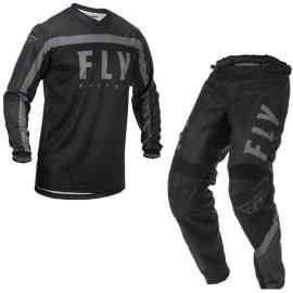 2020 FLY F-16 JERSEY AND PANT COMBO BLACK
