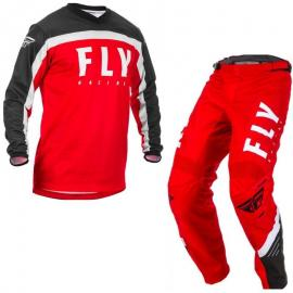2020 FLY F-16 JERSEY AND PANT COMBO RED
