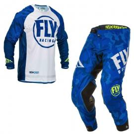 FLY 2020 EVOLUTION JERSEY AND PANT COMBO BLUE
