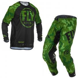 FLY 2020 EVOLUTION JERSEY AND PANT COMBO GREEN