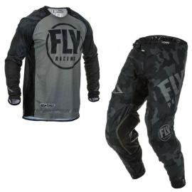 FLY 2020 EVOLUTION JERSEY AND PANT COMBO BLACK