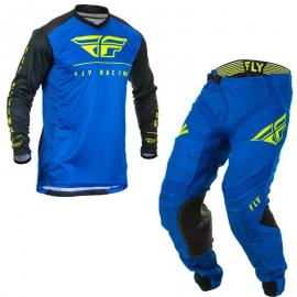 FLY 2020 LITE JERSEY AND PANT COMBO BLUE HI VIS