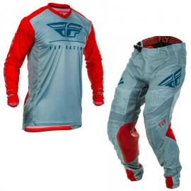 FLY 2020 LITE JERSEY AND PANT COMBO RED NAVY