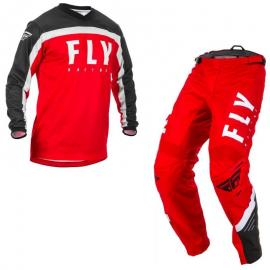 FLY 2020 F-16 YOUTH JERSEY AND PANT COMBO RED