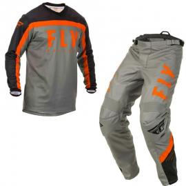 FLY 2020 F-16 YOUTH JERSEY AND PANT COMBO ORANGE