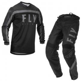 FLY 2020 F-16 YOUTH JERSEY AND PANT COMBO BLACK