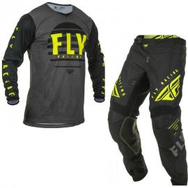 FLY 2020 YOUTH K220 JERSEY AND PANT COMBO BLACK