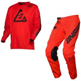 ANSWER 2020 ARKON BOLD JERSEY AND PANT COMBO RED