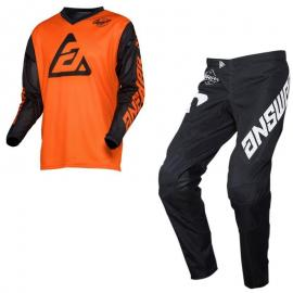 ANSWER 2020 ARKON BOLD JERSEY AND PANT COMBO ORANGE