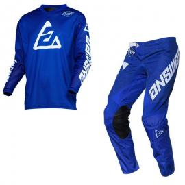 ANSWER 2020 ARKON BOLD JERSEY AND PANT COMBO BLUE