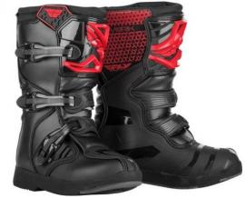 FLY MAVERIK YTH BOOT RED