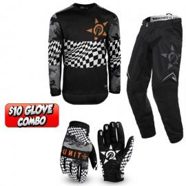UNIT 2020 BULLETIN JERSEY, PANT AND GLOVE COMBO