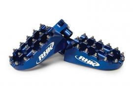 RHK FOOTPEGS YAMAHA BLUE
