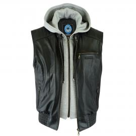 JR ALPINE LEATHER VEST