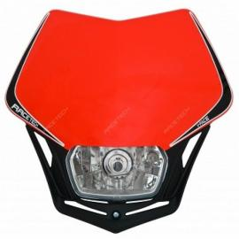 RTECH V-FACE HEADLIGHT RED