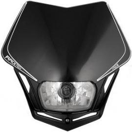 RTECH V-FACE HEADLIGHT BLACK