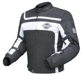 **DRIRIDER CLUB 2 JACKET BLACK/WHITE