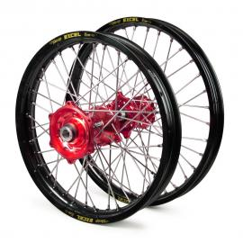 HONDA EXCEL/TALON WHEEL SET BLK/RED