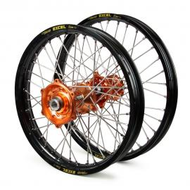 KTM EXCEL/TALON WHEEL SET BLK/ORANGE