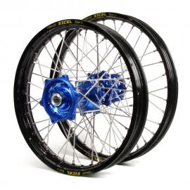 HUSQVARNA EXCEL/TALON WHEEL SET BLK/BLUE