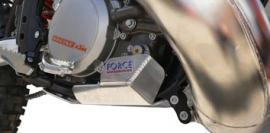 FORCE BASH PLATE KTM 250EXC 300EXC 2012-2015 SILVER