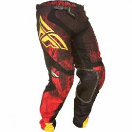 FLY LITE PANT RED/BLACK
