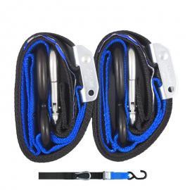 GORILLAS GRIP TIEDOWN 38MM BLACK/BLUE